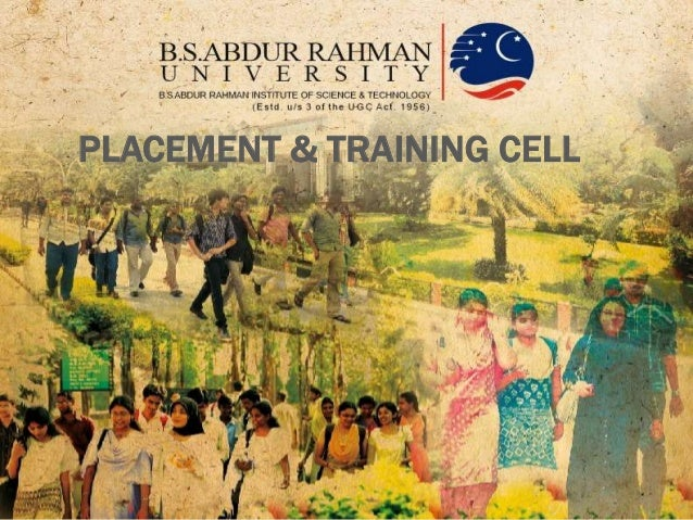 B.S.Abdur Rahman University Placement Brochure Profile
