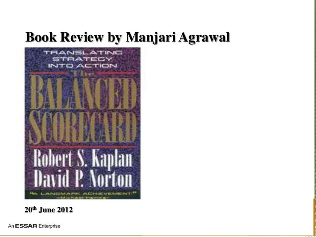 Balance Scorecard Book Review