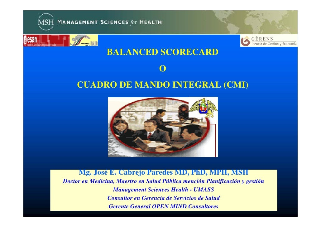 Bsc Generalidades