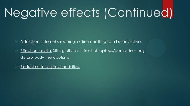 cause and effect essay about internet addiction