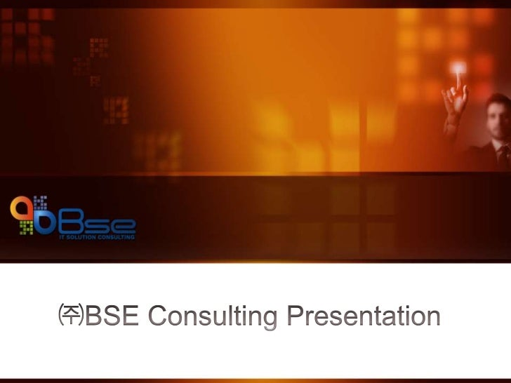 BSE Consulting Korea - Presentation