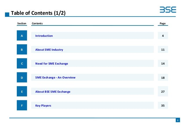 Bse Sme Exchange Business Ppt