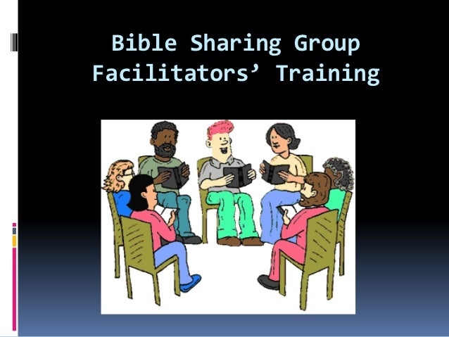 Bible Sharing GroupFacilitators' Training