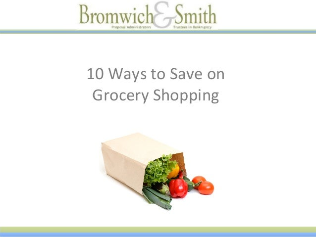 10 Ways to Save on Grocery Shopping