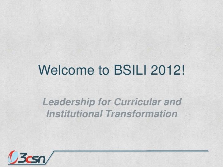 Bsili opening