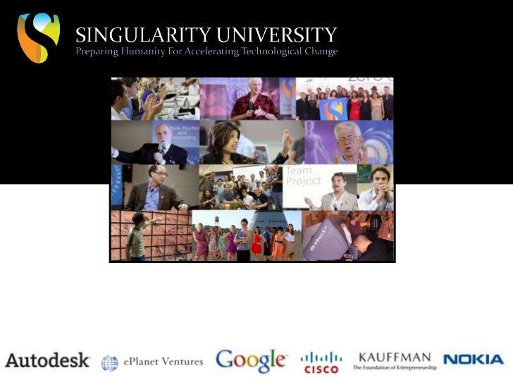 Экспоненциальные технологии в Singularity University, США