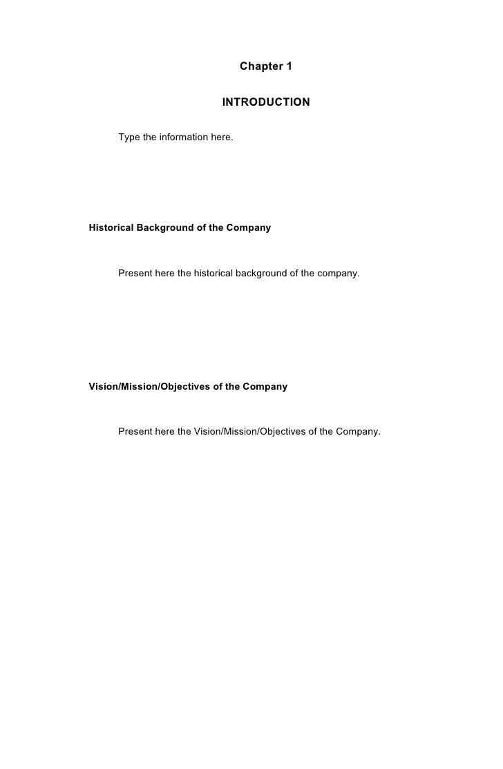 Bsit narrative report format 2