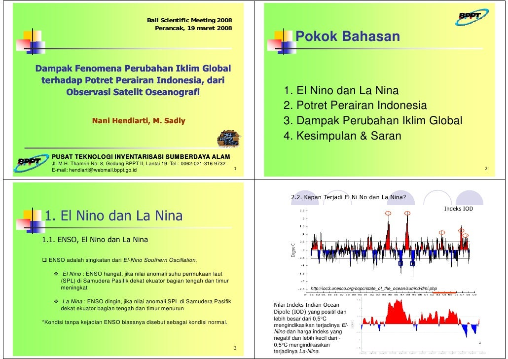 Bali Scientific Meeting 2008                                               Perancak, 19 maret 2008                        ...