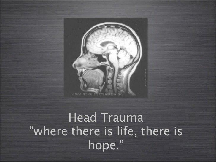 Bspence, head trauma. sgp
