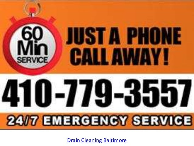 Drain Cleaning Baltimore