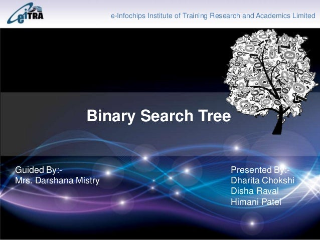 Binary search tree research papers