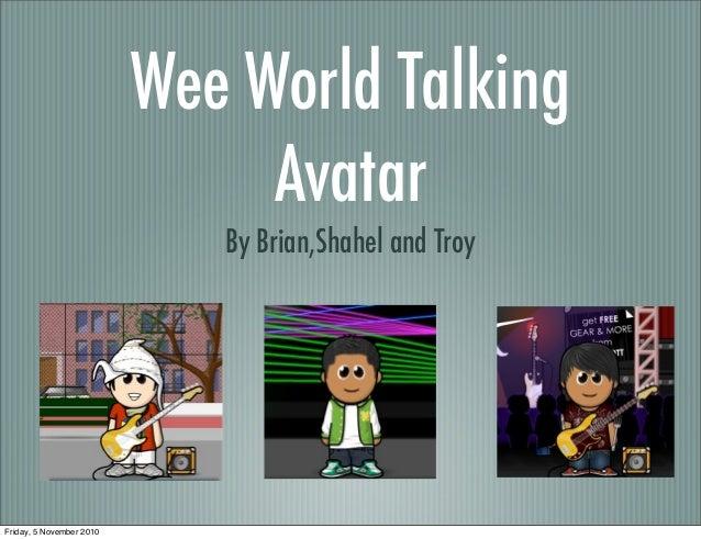 Talking Avatar 1