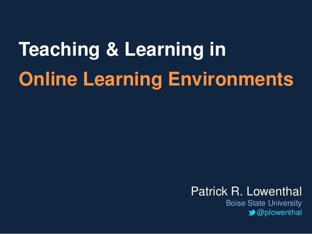 BSU Research and Teaching Talk