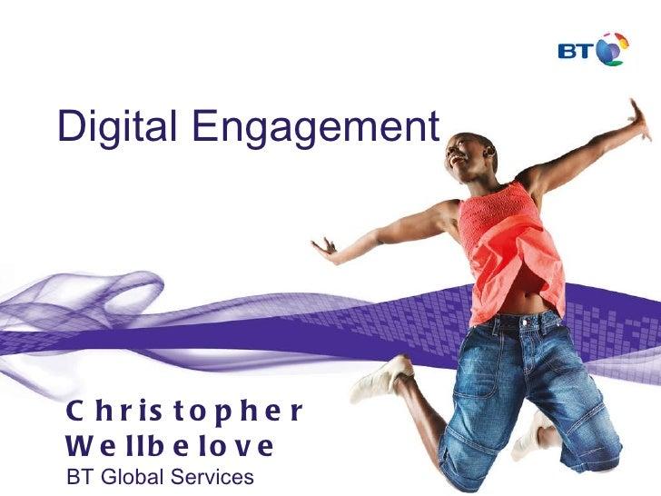 Christopher Wellbelove - Head of Social Media – BT Global Services, at Enterprise Social 2.0 conference in Brussels