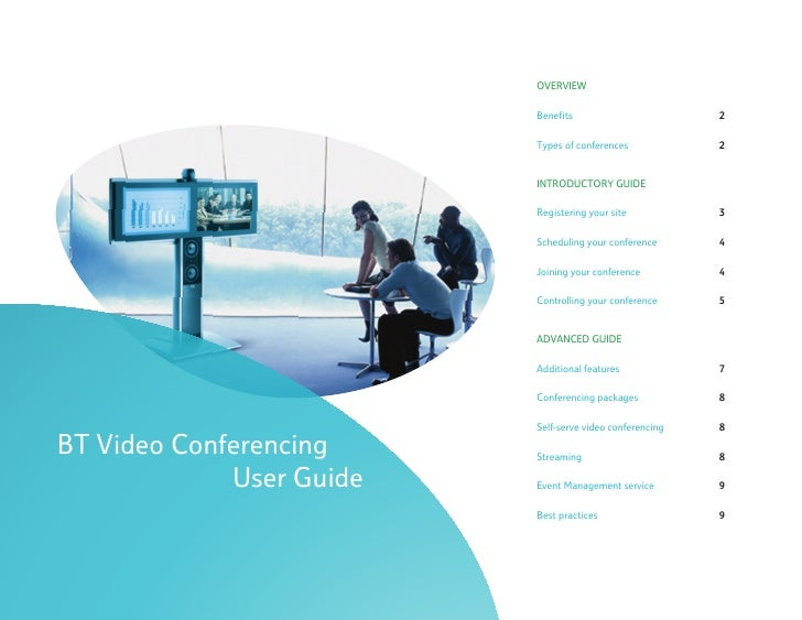 BT Video Conferencing User Guide