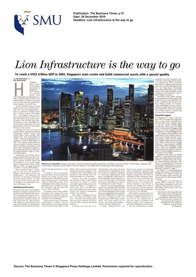 Publication: The Business Times, p 21                                                                                     ...