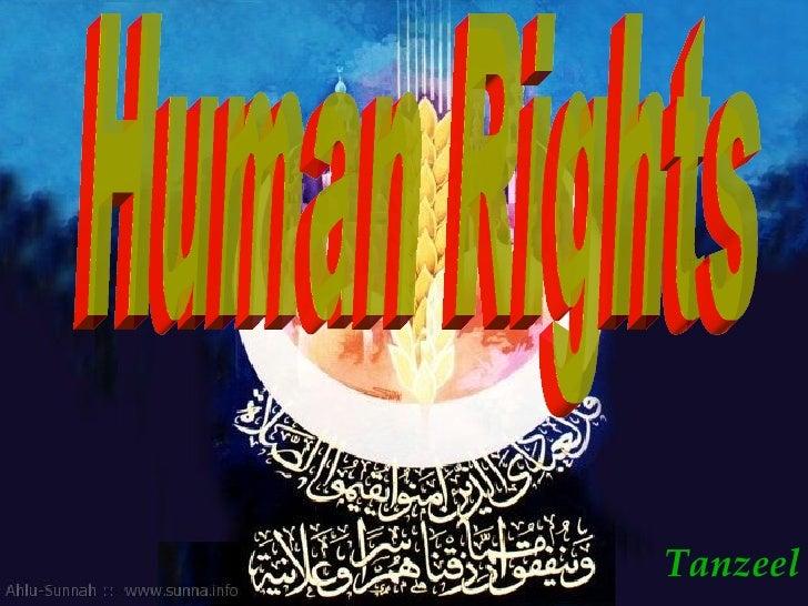 Tanzeel Human Rights