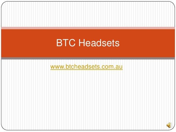 www.btcheadsets.com.au