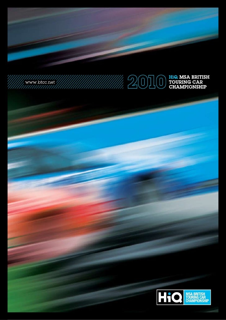 Btcc 2010 Brochure