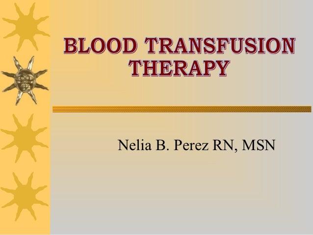 Nelia B. Perez RN, MSN
