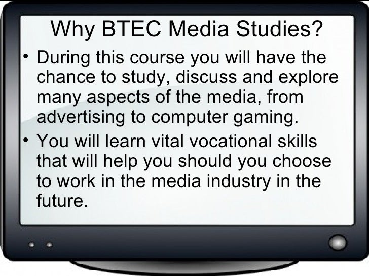 btec national diploma in media production essay Btec higher national diploma 2227 words | 9 pages  students are expected to write an essay  diploma in audio production level 3 the soundcraft vi4 is a state .