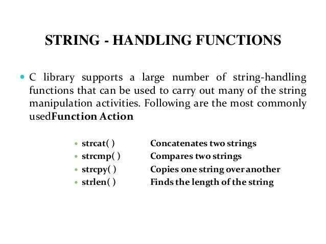C string assignment