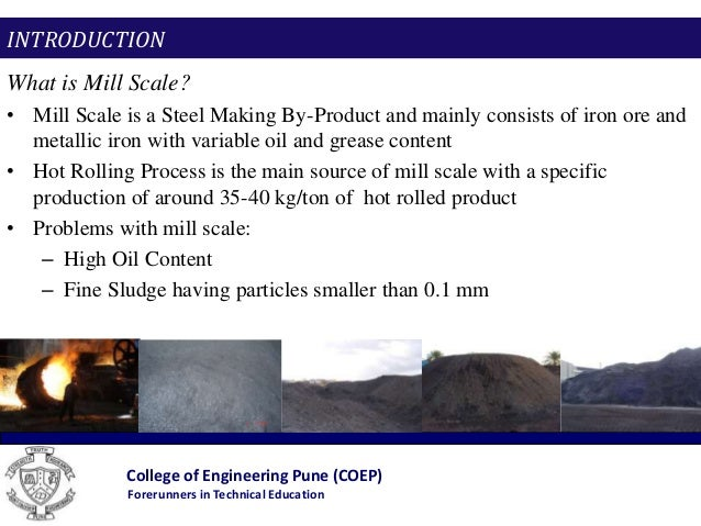 Enhancing The Kinetics Of Mill Scale Reduction An Eco