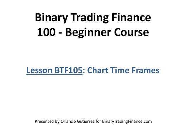 Binary options tick charts