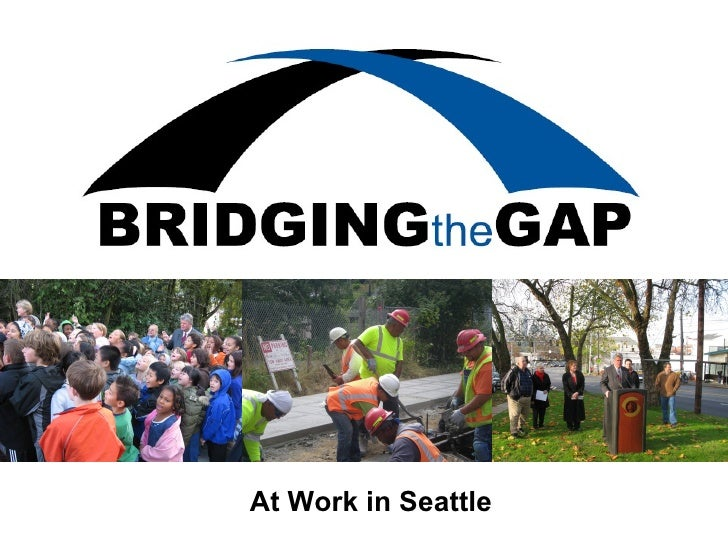 Bridging the Gap - A sampling of completed work