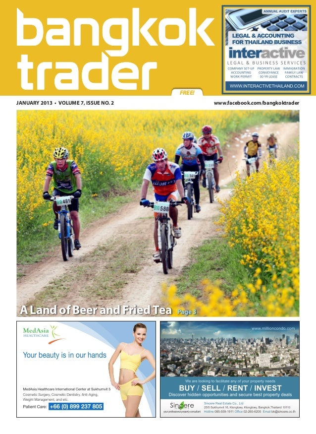 Bangkok Trader Magazine - January 2013