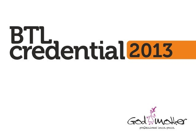 Godmother's BTL Credential