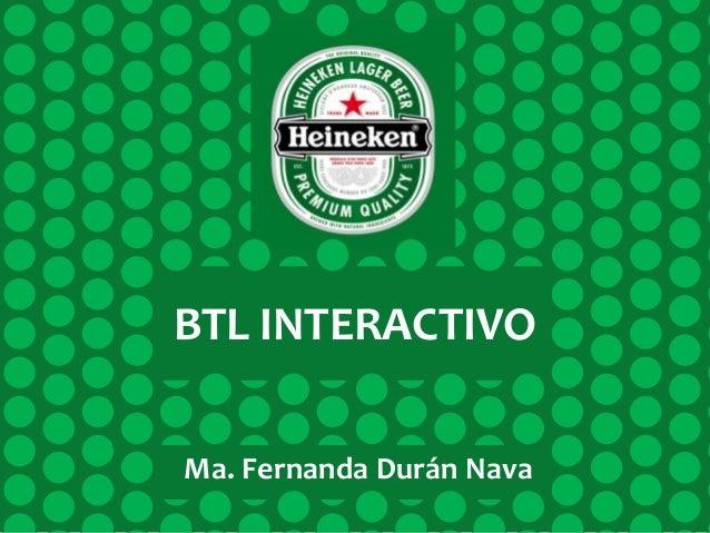 BTL INTERACTIVO Ma. Fernanda Durán Nava