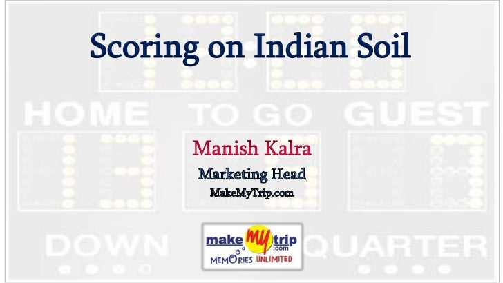 Scoring on Indian Soil