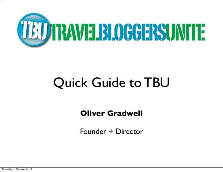 BTO2011 Travel Bloggers Unite