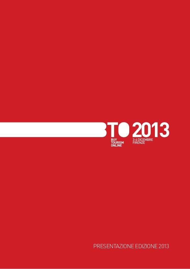 PRESENTAZIONE EDIZIONE 2013