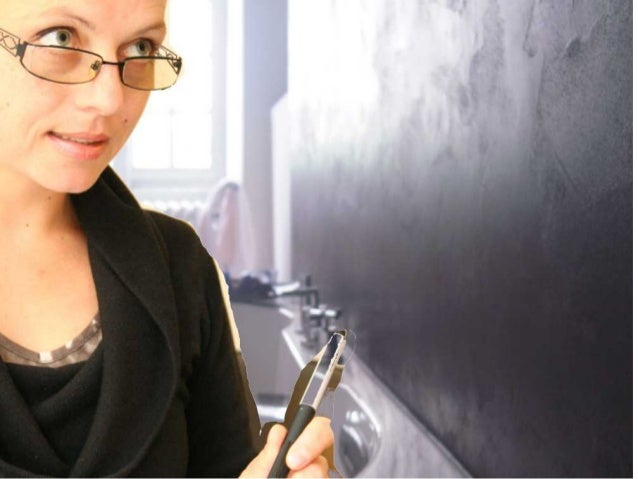 L'enduit à effet béton ciré dans la salle de bain A découvrir… Exemple de réalisation, prix et devis en ligne