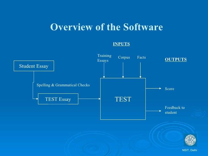 essay grader software