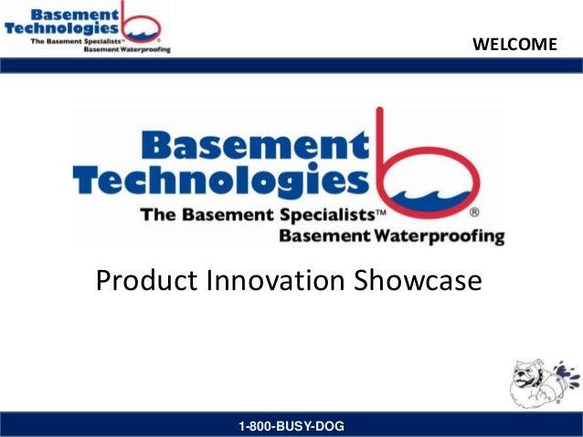 Basement Technologies Product Innovation Showcase