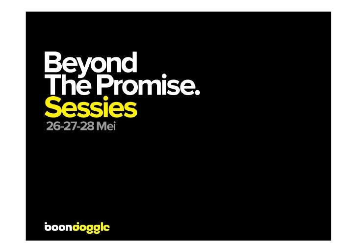Promise               5/27/09           Slide 2