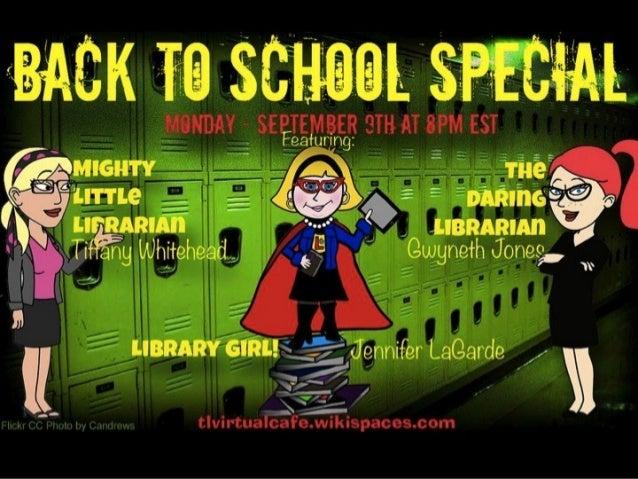 Back to School Night Special - TL Cafe Preso 2014