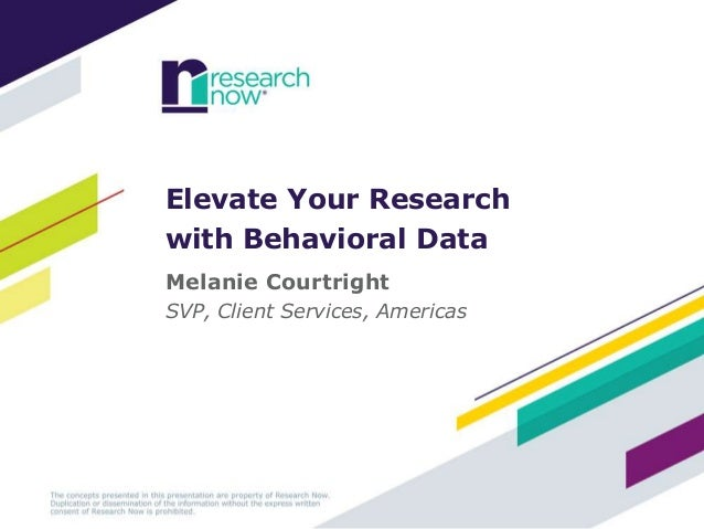 Elevate Your Research with Behavioral Data