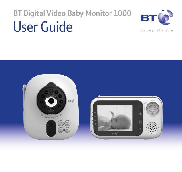 bt video baby monitor 1000 user guide. Black Bedroom Furniture Sets. Home Design Ideas