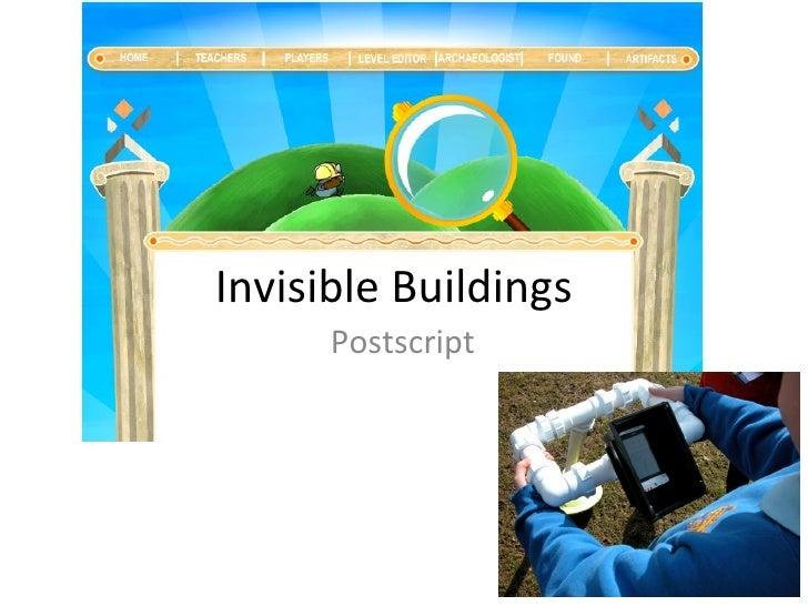 Bu  invisible buildings