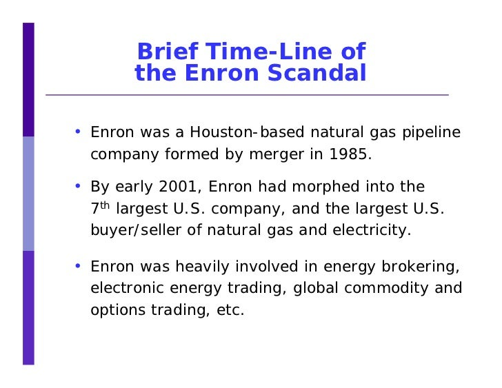 An Ethical Analysis of the Enron Scandal