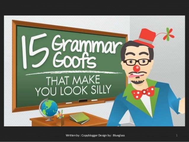 Kesalahan grammar yang membuat kita kelihatan bodoh