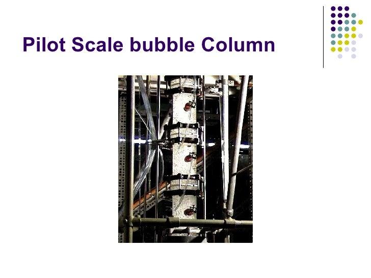 bubble column reactors Micro-structured bubble column reactor for a dodecane- nitrogen system krushnathej thiruvalluvan sujatha.
