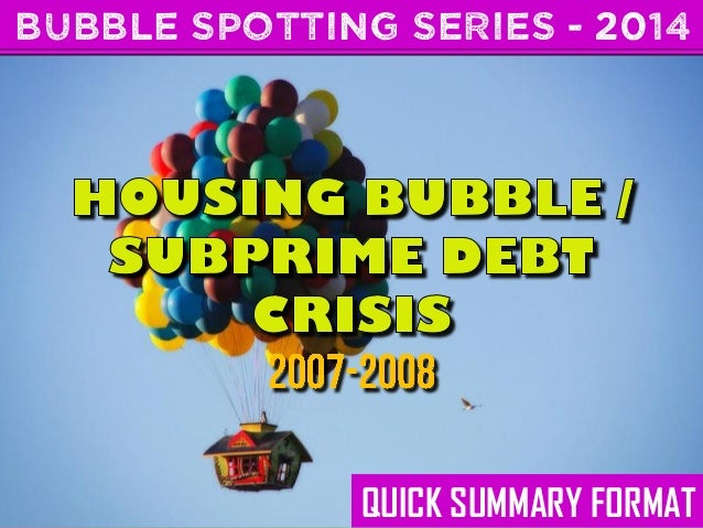 BUBBLE SPOTTING SERIES - 2014  QUICK SUMMARY FORMAT