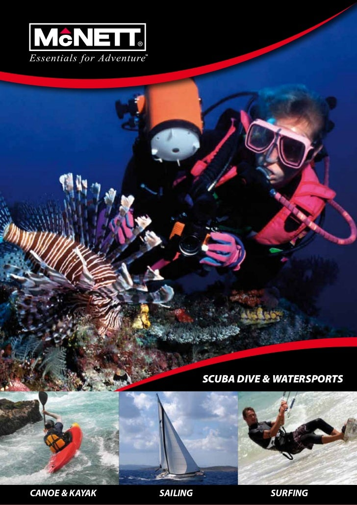 Buceo y deportes acuaticos mcnett