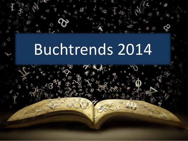 Buchtrends 2014