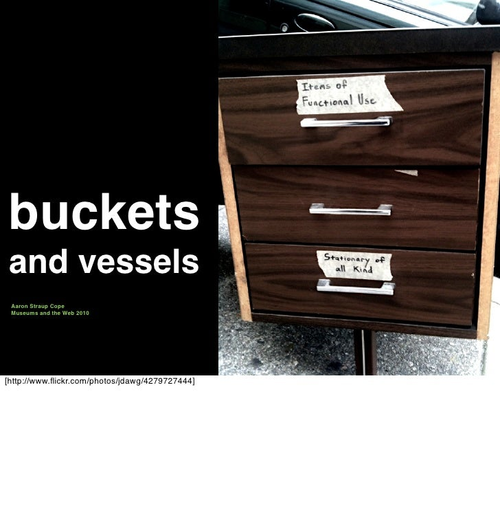 Buckets and Vessels
